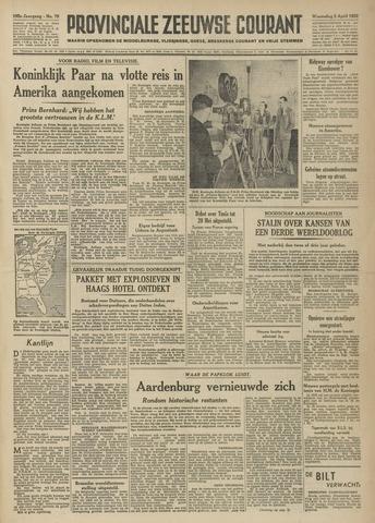 Provinciale Zeeuwse Courant 1952-04-02