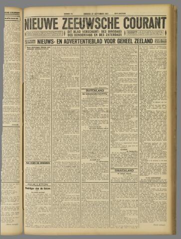 Nieuwe Zeeuwsche Courant 1927-09-27
