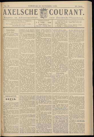 Axelsche Courant 1930-10-21