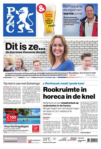 Provinciale Zeeuwse Courant 2016-06-22