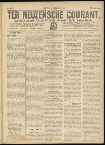Ter Neuzensche Courant. Algemeen Nieuws- en Advertentieblad voor Zeeuwsch-Vlaanderen / Neuzensche Courant ... (idem) / (Algemeen) nieuws en advertentieblad voor Zeeuwsch-Vlaanderen 1933-10-06
