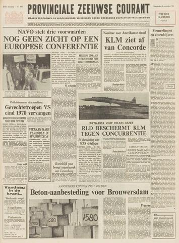 Provinciale Zeeuwse Courant 1969-11-06