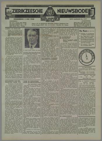 Zierikzeesche Nieuwsbode 1940-07-04
