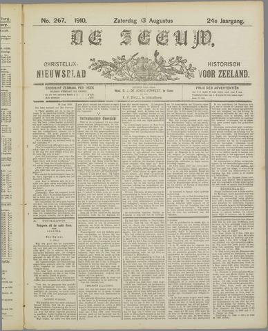 De Zeeuw. Christelijk-historisch nieuwsblad voor Zeeland 1910-08-13