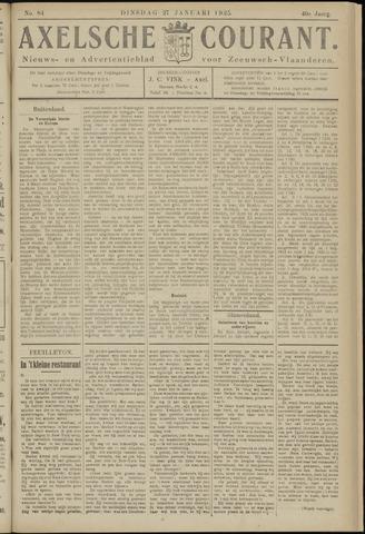 Axelsche Courant 1925-01-27