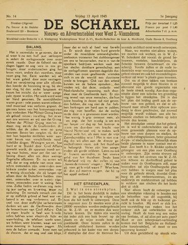 De Schakel 1945-04-13