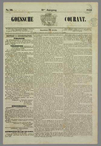 Goessche Courant 1854-07-31