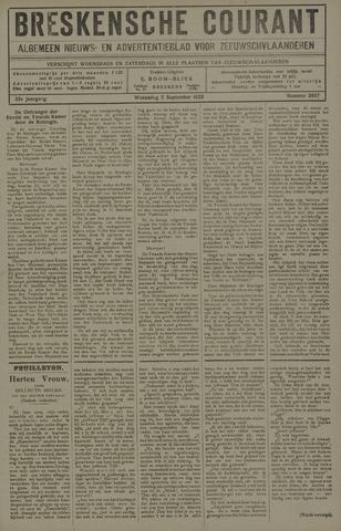 Breskensche Courant 1923-09-05