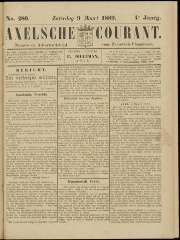 Axelsche Courant 1889-03-09