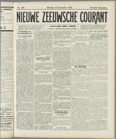 Nieuwe Zeeuwsche Courant 1911-09-12