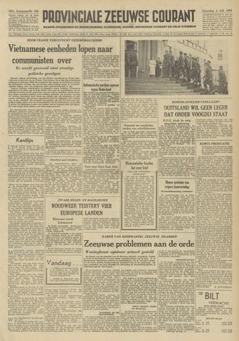 Provinciale Zeeuwse Courant 1954-07-03