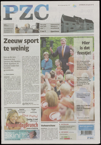 Provinciale Zeeuwse Courant 2014-04-26