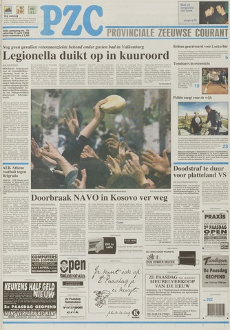 Provinciale Zeeuwse Courant 1999-04-03