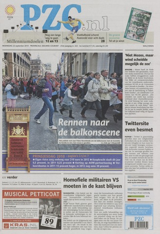 Provinciale Zeeuwse Courant 2010-09-22