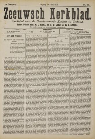 Zeeuwsche kerkbode, weekblad gewijd aan de belangen der gereformeerde kerken/ Zeeuwsch kerkblad 1909-06-18