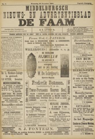 de Faam en de Faam/de Vlissinger 1904-11-23