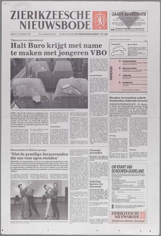 Zierikzeesche Nieuwsbode 1995-11-07
