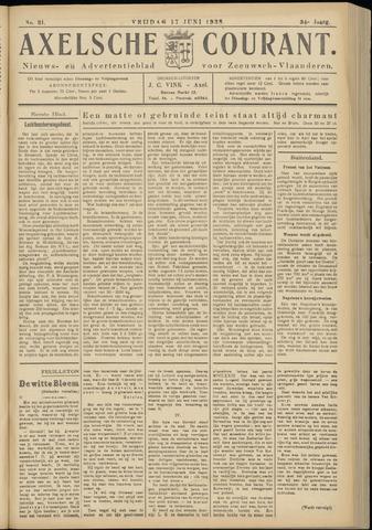 Axelsche Courant 1938-06-17