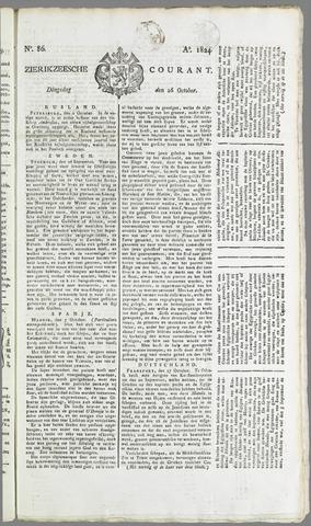Zierikzeesche Courant 1824-10-26