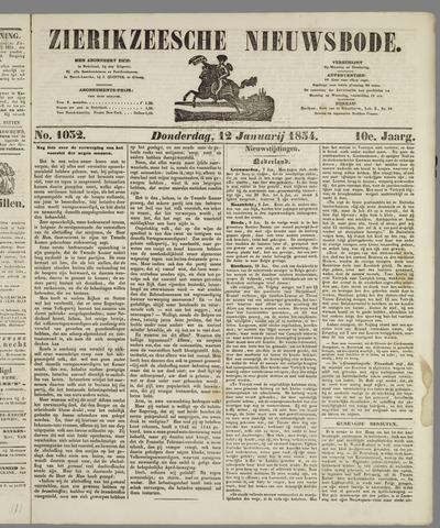 Zierikzeesche Nieuwsbode 1854-01-12