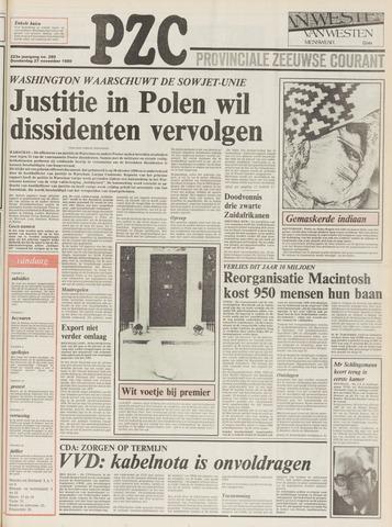 Provinciale Zeeuwse Courant 1980-11-27