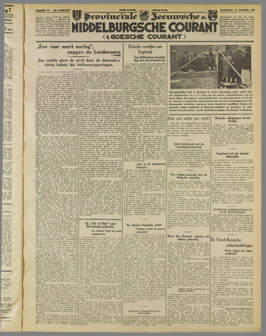 Middelburgsche Courant 1939-10-25