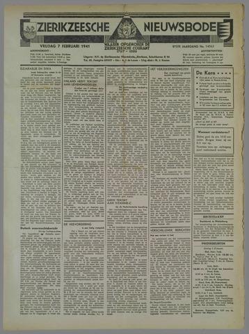 Zierikzeesche Nieuwsbode 1941-02-07