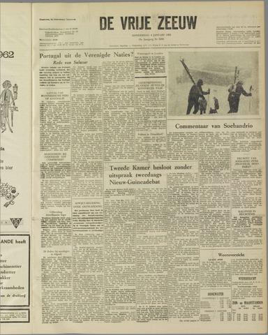 de Vrije Zeeuw 1962-01-04