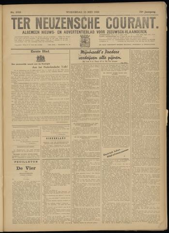 Ter Neuzensche Courant. Algemeen Nieuws- en Advertentieblad voor Zeeuwsch-Vlaanderen / Neuzensche Courant ... (idem) / (Algemeen) nieuws en advertentieblad voor Zeeuwsch-Vlaanderen 1933-05-10