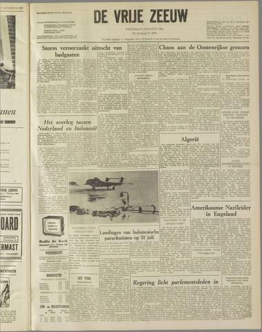 de Vrije Zeeuw 1962-08-08