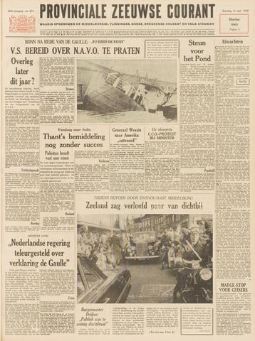Provinciale Zeeuwse Courant 1965-09-11