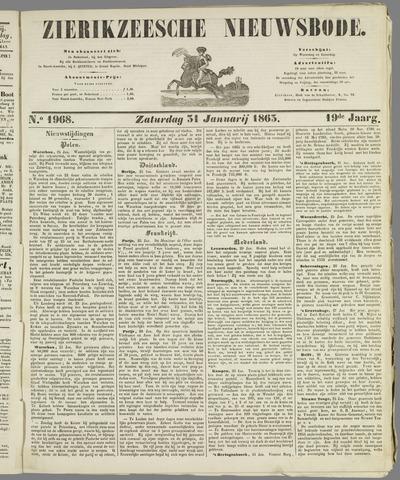 Zierikzeesche Nieuwsbode 1863-01-31