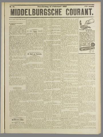 Middelburgsche Courant 1927-02-17