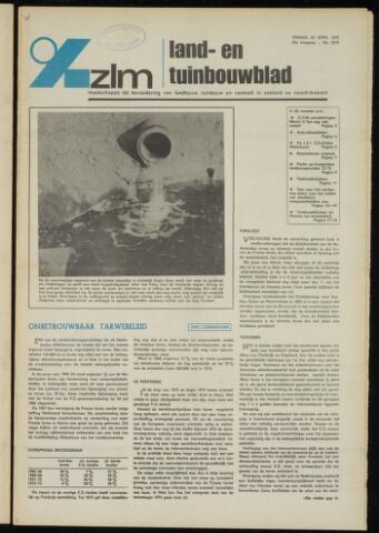 Zeeuwsch landbouwblad ... ZLM land- en tuinbouwblad 1975-04-25