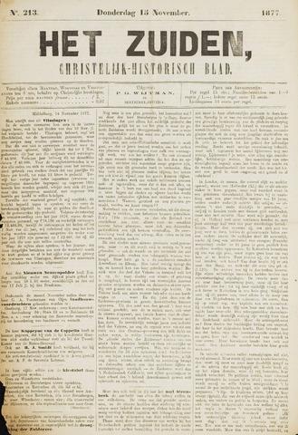 Het Zuiden, Christelijk-historisch blad 1877-11-15