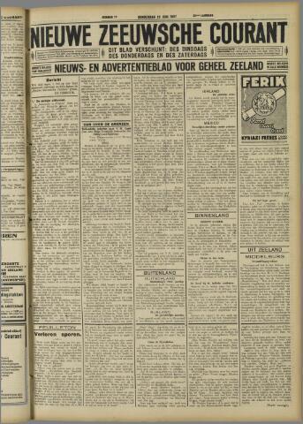 Nieuwe Zeeuwsche Courant 1927-06-23