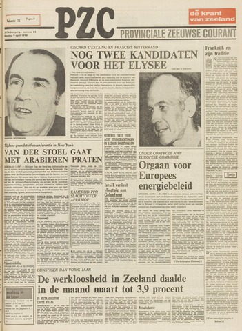 Provinciale Zeeuwse Courant 1974-04-09