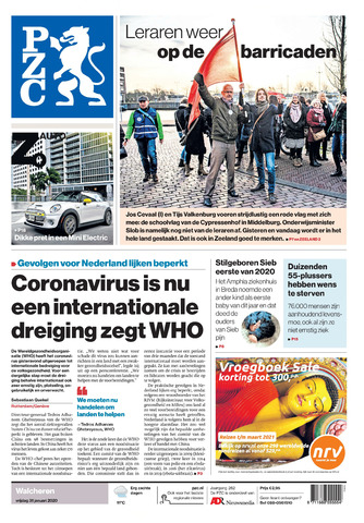 Provinciale Zeeuwse Courant 2020-01-31