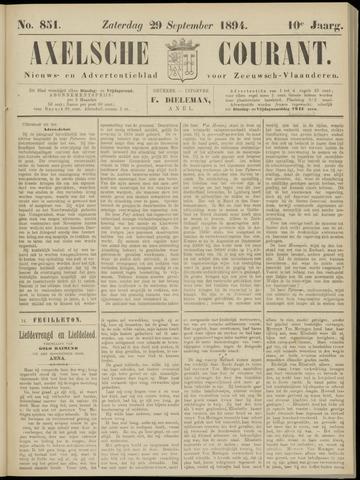 Axelsche Courant 1894-09-29