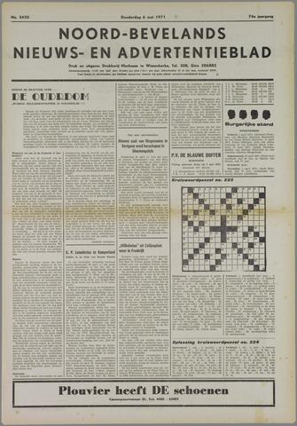 Noord-Bevelands Nieuws- en advertentieblad 1971-05-06