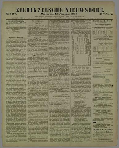 Zierikzeesche Nieuwsbode 1888-01-12