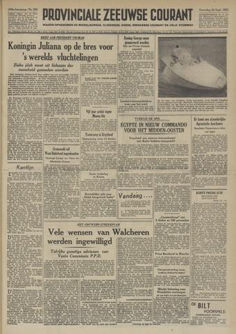 Provinciale Zeeuwse Courant 1951-09-22