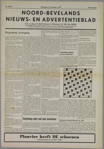 Noord-Bevelands Nieuws- en advertentieblad 1971-12-16