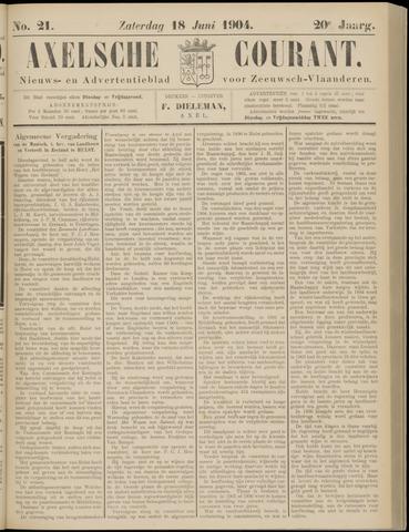 Axelsche Courant 1904-06-18
