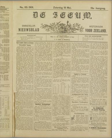 De Zeeuw. Christelijk-historisch nieuwsblad voor Zeeland 1901-05-18