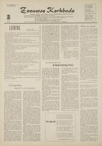 Zeeuwsche kerkbode, weekblad gewijd aan de belangen der gereformeerde kerken/ Zeeuwsch kerkblad 1969-09-04