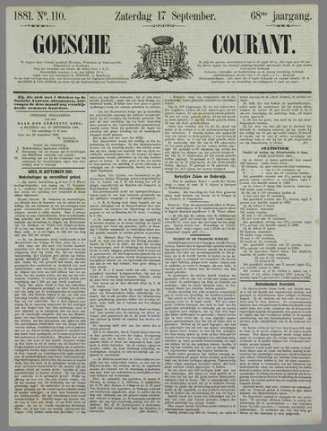 Goessche Courant 1881-09-17