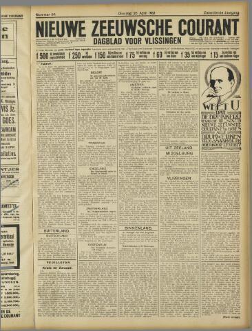 Nieuwe Zeeuwsche Courant 1921-04-26