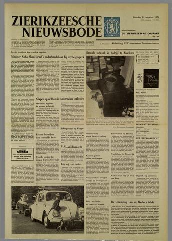 Zierikzeesche Nieuwsbode 1970-08-24
