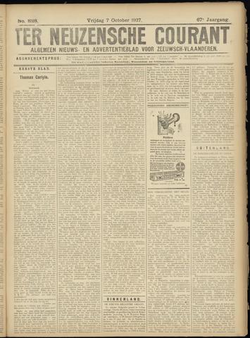 Ter Neuzensche Courant. Algemeen Nieuws- en Advertentieblad voor Zeeuwsch-Vlaanderen / Neuzensche Courant ... (idem) / (Algemeen) nieuws en advertentieblad voor Zeeuwsch-Vlaanderen 1927-10-07